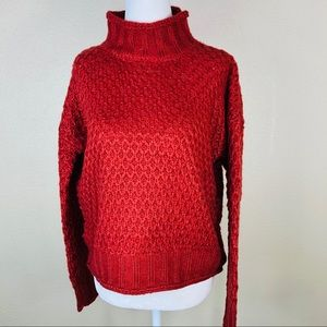 Hippie Rose Knit Sweater  NWT
